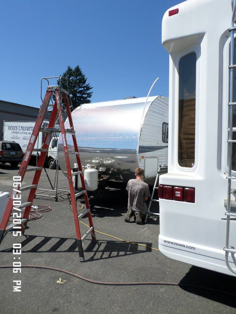 Travel Trailer American Rv Repair Llc