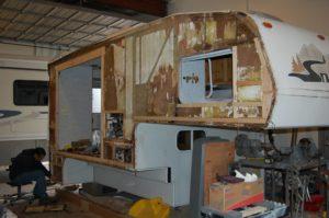 dry rot repair camper vancouver wa
