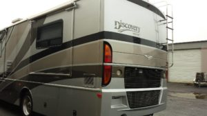 rv collision after